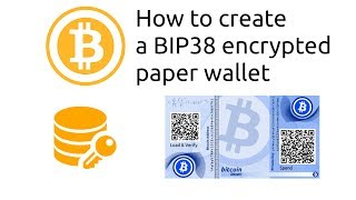 How to create BIP38 encrypted bitcoin wallets
