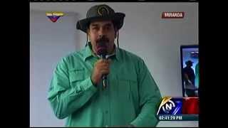 Maduro dirige jornada integral de la Misión Negro Primero en Fuerte Guaicaipuro