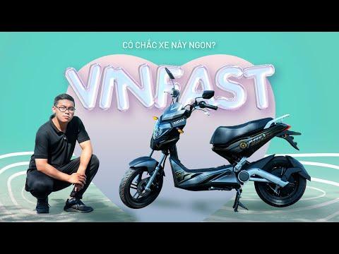 Đánh giá xe máy điện Vinfast Ludo