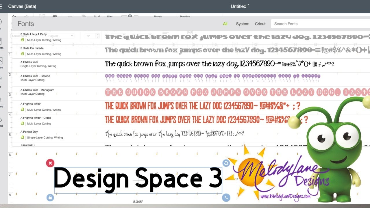 Cricut Design Space 3 is Here See whats NEW