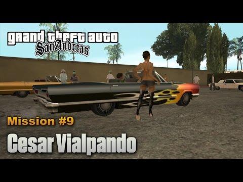 Gta San Andreas [ With Cheats ] Episode 10 - Car Dancing