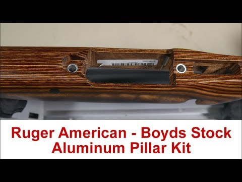 Pillar Kit for Ruger American - Boyds Stock