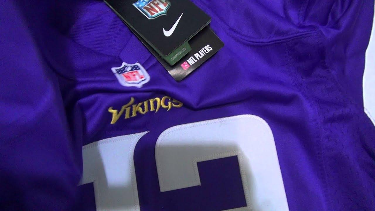 NFL Jerseys Sale - Jersey Review: NFL Minnesota Vikings #22 Smith Women Purple Jersey ...
