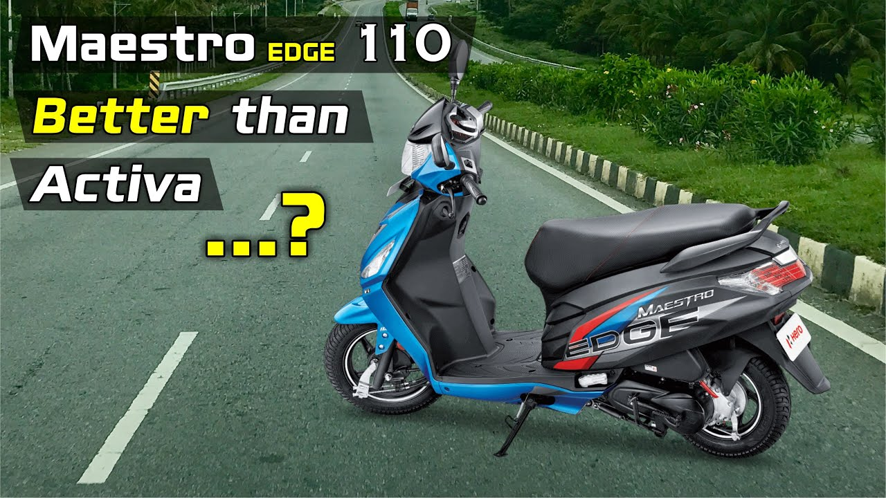 Hero Meastro Edge 110 BS6 2020 Review, Really Better than Activa 6G?