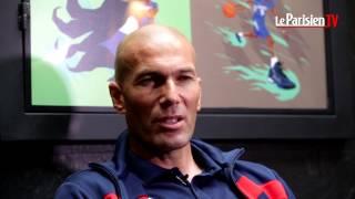Zinedine jaloux de Luca Zidane