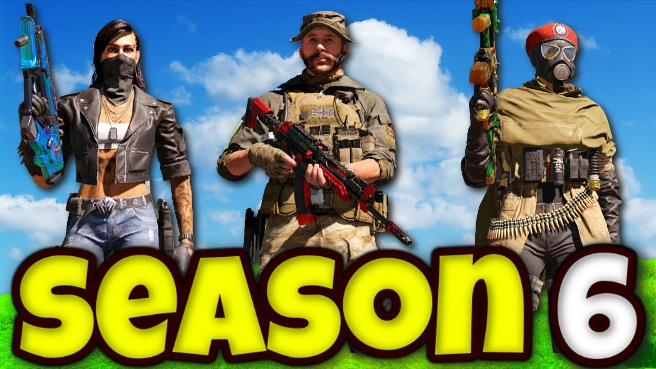 ALL SEASON 6 BATTLE PASS CHARACTERS GAMEPLAY! | COD MOBILE | SOLO VS SQUADS