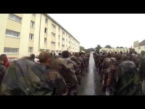 La Strasbourgeoise chanté par le C.M.E du 8 PARA de marine