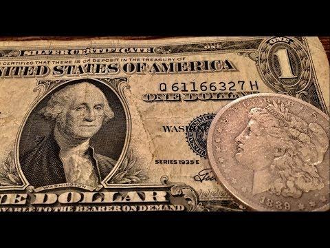 Morgan Silver Dollar! Mercury Dime! Silver Certificate! & MORE!