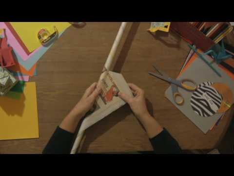 how to make paper sword and shield