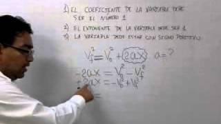 DESPEJE DE FORMULAS 1