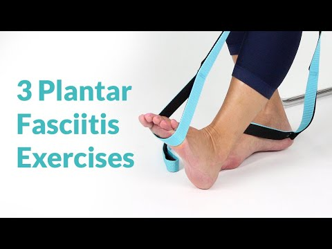Best Plantar Fasciitis Exercises & Stretches for Foot & Heel Pain