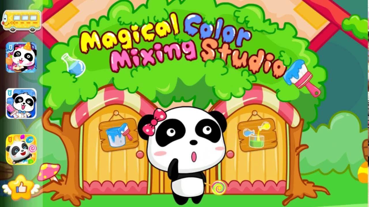 Education Cartoon Color Mixing #Kartoon - YouTube