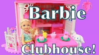 Chelsea Clubhouse Barbie Sister Playset Toy Review Alltoycollector