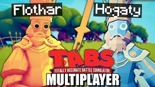 NAJLEPSZE WALKI W TABS MULTIPLAYER! FLOTHAR vs HOGATY | TOTALLY ACCURATE BATTLE SIMULATOR PL