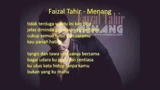Faizal Tahir ~Menang(OST Akadku Terakhir)