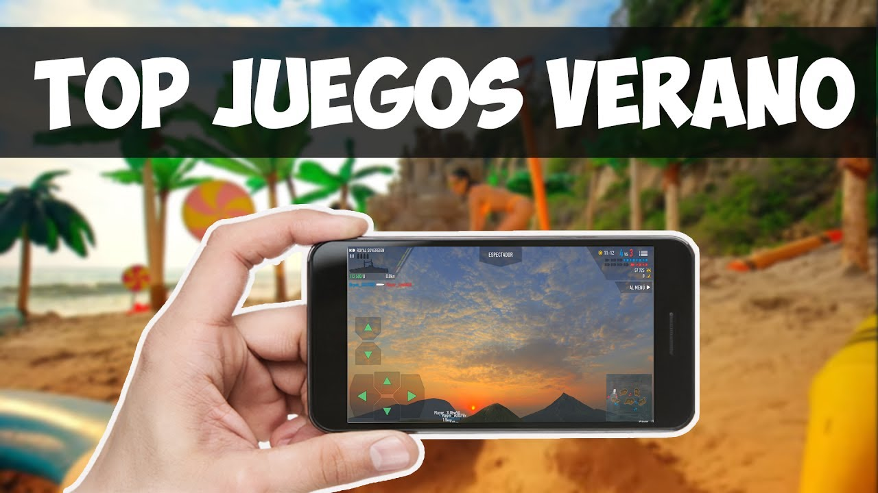 TOP 5 BRUTALES Juegos para VERANO | Julio 2017