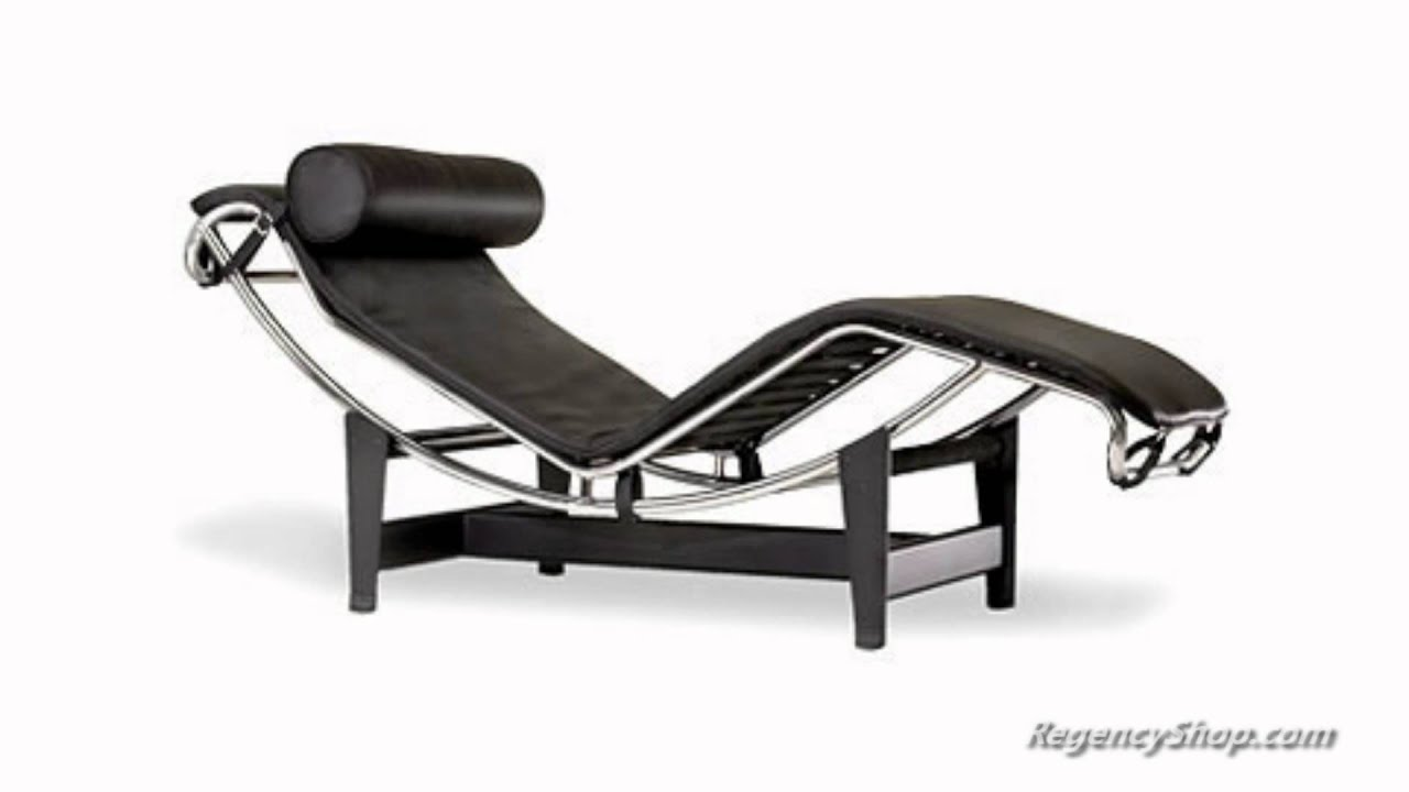 Le Corbusier LC4 Chaise Lounge Chair - RegencyShop.com - YouTube