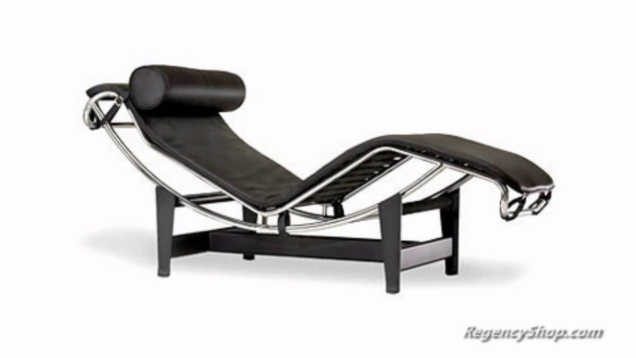 Le Corbusier LC4 Chaise Lounge Chair  RegencyShopcom