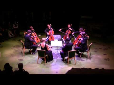 Cellophony 8 cellos: Barber Adagio for Strings  in concert