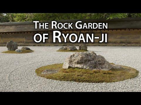 Beautiful Kyoto: Zen Rock Garden at Ryōan-ji Temple