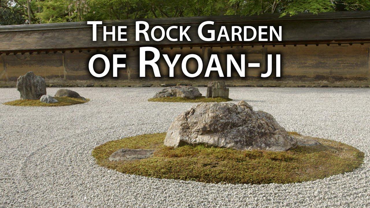 beautiful kyoto zen rock garden at ryan ji temple - Zen Rock Garden