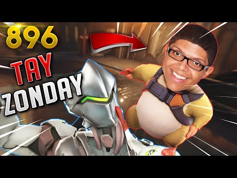 Tay Zonday HATES GENJI SO MUCH! | Overwatch Daily Moments Ep. 896 (Funny and Random Moments)