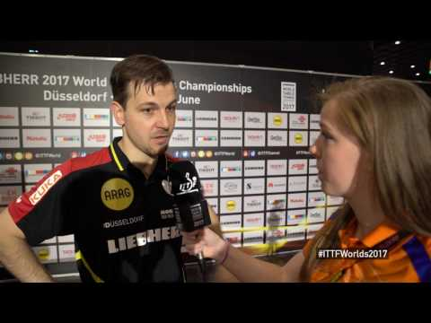 2017 World Championships | Interview - Timo Boll