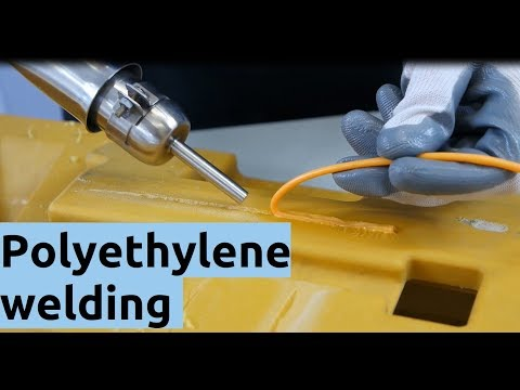 Polyethylene Welding - How To Weld PE Plastic ?