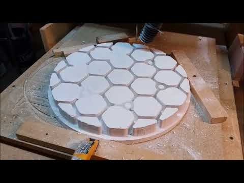 Facing Off A Plaster Mold ON The CNC Mill