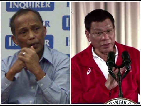 Cusi defends Duterte's stand on Climate Change pact