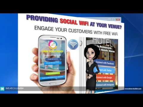 Social WiFi Hotspot   CWN Solutions