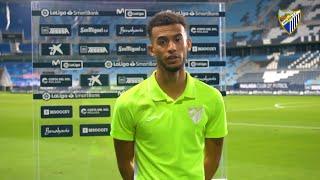 """Hicham, """"contento"""" por el gol frente al RC Deportivo"""