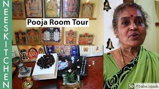 Pooja room tour Pooja room ideas with English subtitles