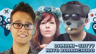 UbiTV Joga: Damiani, Rato Borrachudo e Satty ao vivo
