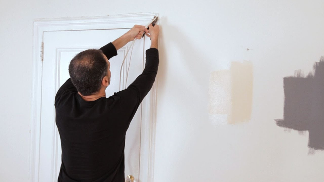 How To Remove Old Wire House Painting Youtube Wiring In