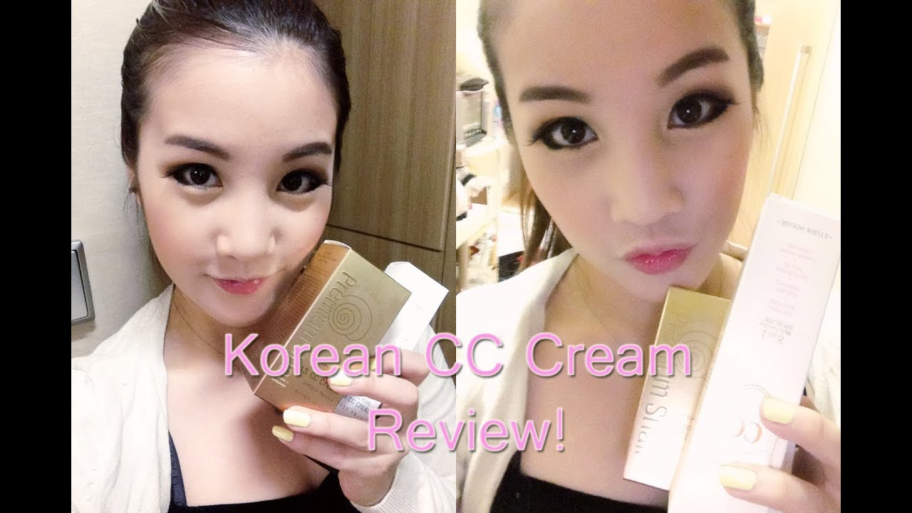 Korean CC Cream Review!! CC크림 리뷰!!