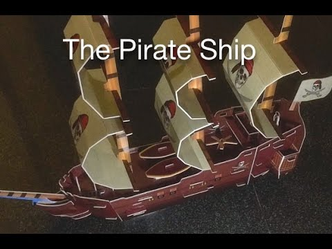 The Pirate Ship 3d Puzzle Youtube