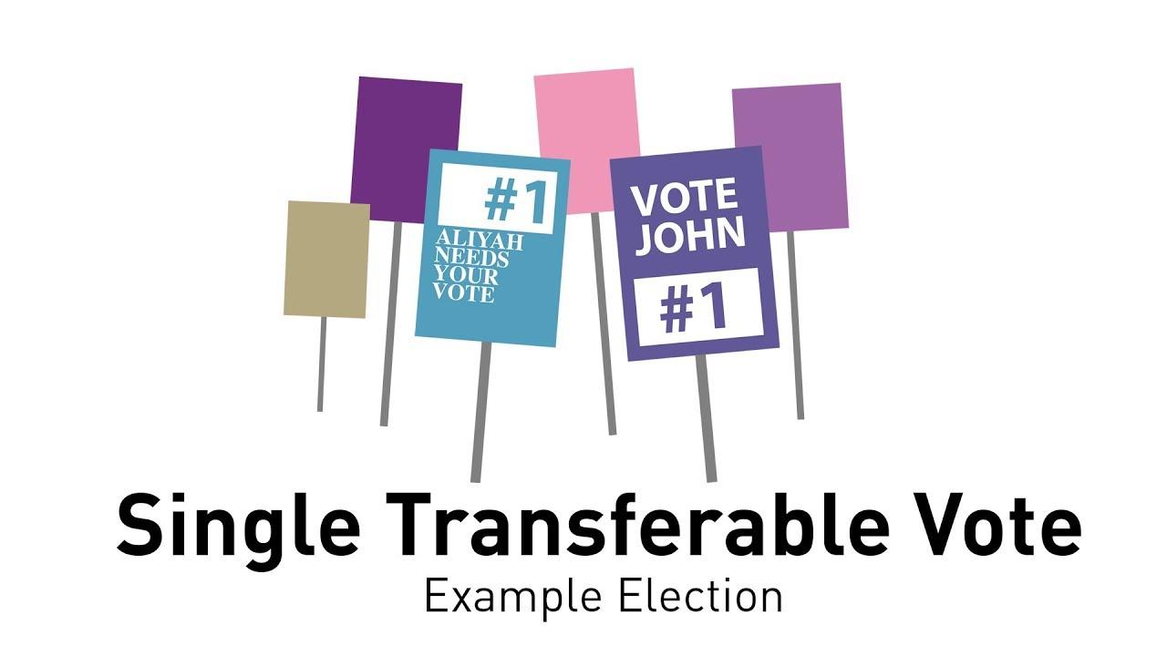 Single transferable vote calculator