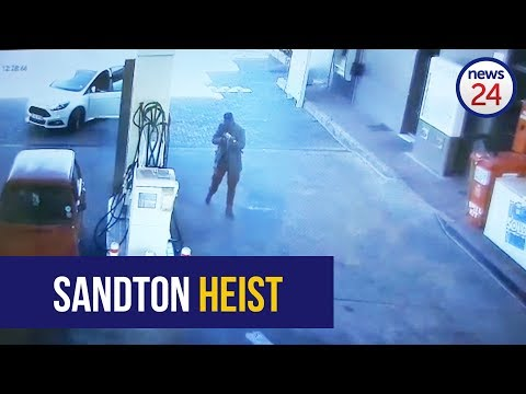WATCH:Cash-in-transit guards attacked