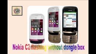  How to flash nokia c2   Nokia c2-06 flashing without dongle  Nokia C2 flashing  