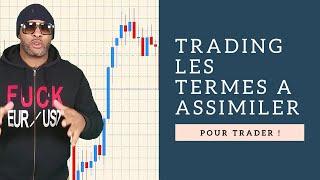 Formation Trading Gratuite : Apprendre les termes utilisés en trading