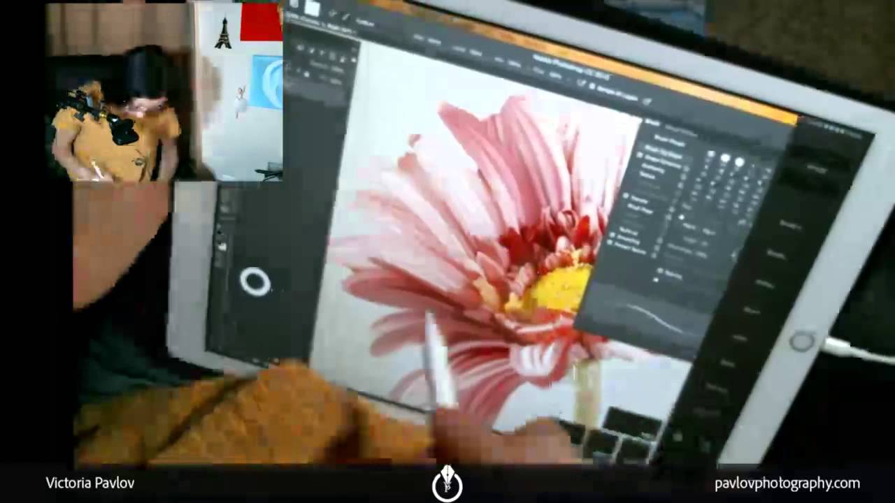 Digital Painting In Adobe Photoshop CC Using IPad Pro