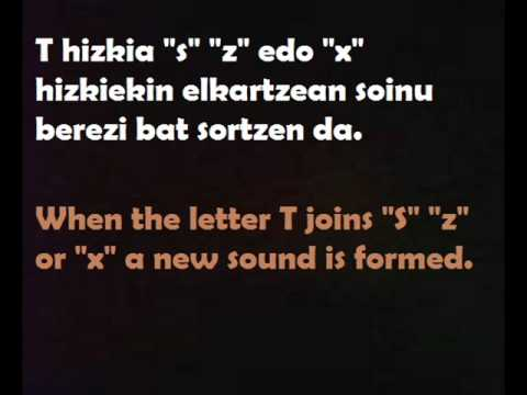 Learning Basque: Pronunciation