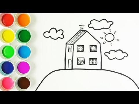 Cómo Dibujar Y Colorear La Casa De Peppa Pig Dibujos Y Colores