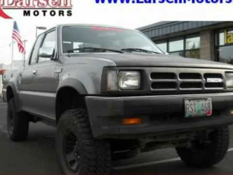 1991 MAZDA PICKUP McMinnville, OR 6221T - YouTube