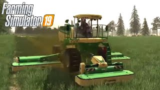 #94 - COMPRIAMO NUOVA FALCIATRICE! - FARMING SIMULATOR 19 ITA RUSTIC ACRES
