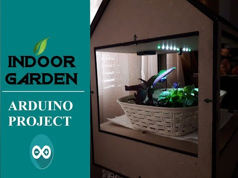 How to make Arduino indoor garden