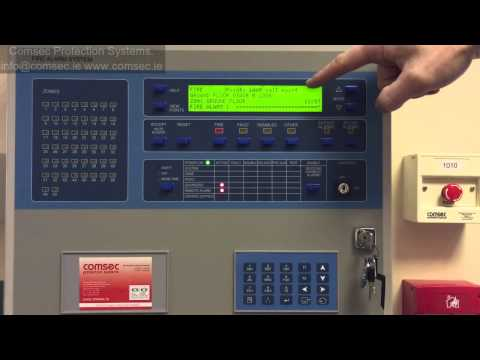Ziton ZP3 Panel. How To Deal With An Alarm.