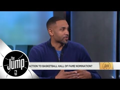 Grant Hill reacts to Hall of Fame nomination | The Jump | ESPN