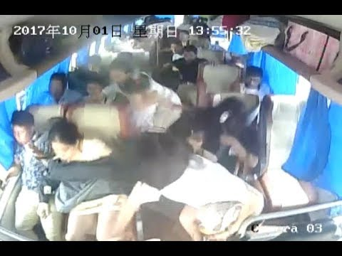 One Injured at Bus Rollover in Central China